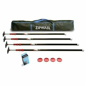Zipwall 10 4 pack Dust Barrier System