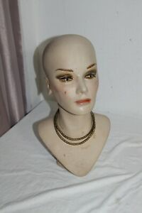 Hand Painted Head Mannequin For Store Display