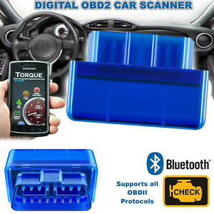 Elm327 V1 5 Bluetooth Obdii Car Diagnostic Tool Obd2 Code Reader Scanner Tool