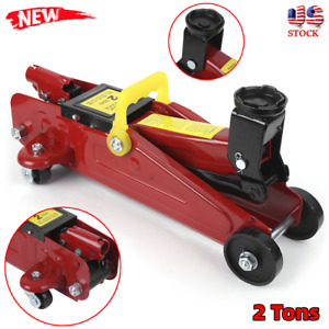2 Ton Hydraulic Bottle Jack Auto Car Emergency Tire Repair Lift Tool Free Ship