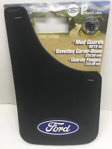 2 Brand New Ford Plasticolor Mud Guards Mud Flaps 9 X 15 In Cars Suv S Trucks