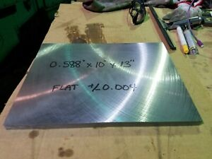 Hot Roll Steel Plate Blanchard Ground Flat 1 2 X 10 X 13 Tooling Stock