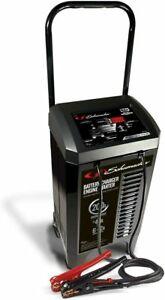 Wheeled Automatic Battery Charger Engine Starter Advanced Diagnostic Testing