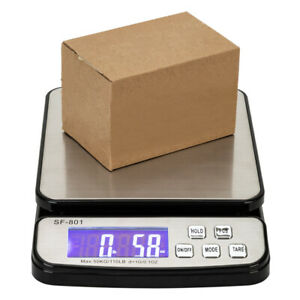 Sf 801 110 Lb 0 02lb Digital Shipping Postal Scale Mail Packages W dc 6v Adapter