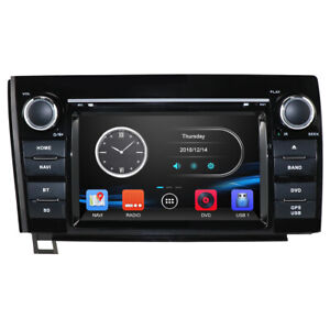 For 2007 2013 Toyota Tundra Sequoia Navi Car Cd Dvd Gps Player Radio Dab Stereo
