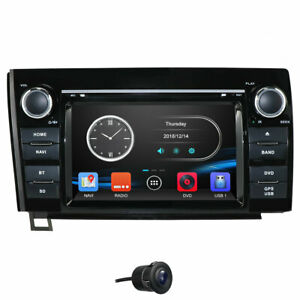 For Toyota Tundra 2007 2013 Car Stereo Gps Navigation Dvd Radio Head Unit Sat Us