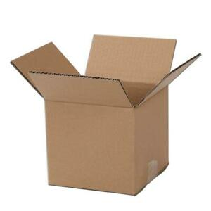 100 4x4x4 Packing Mailing Moving Shipping Boxes Corrugated Carton