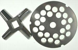 32 X 1 2 Stainless Meat Grinder Plate Heavy Duty Knife For Hobart Biro