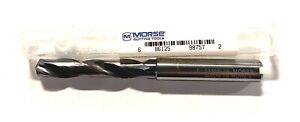 Morse Letter J Solid Carbide Drill High Performance Tialn Coated Coolant Thru