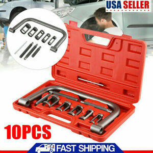 10pcs Car Motorcycle Engines Valve Spring Compressor Kit Removal Tool Us Stock