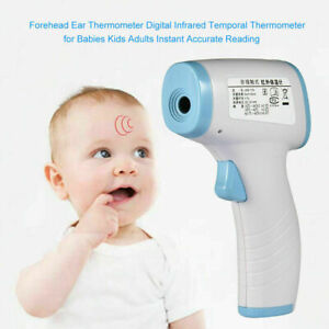 Infrared Thermometer Forehead Non contact No Touch Digital Baby Adult Household