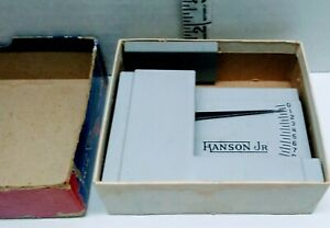 Vintage Airmail Postage Scale Hanson Jr Model 158 1952 With Original Box