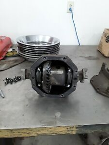 1967 Corvette 427 At 3 08 Posi Rear End Differential W Pinion Yokes Rebuilt