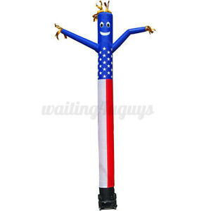 3m 10ft Inflatable Advertising Air Puppet Dancer Sky Wavy Wind Tube Man