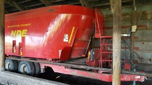 2016 Nde 2656 Feed mixer Wagon Used Comes With Small 1000 large 1000 Pto Shafts