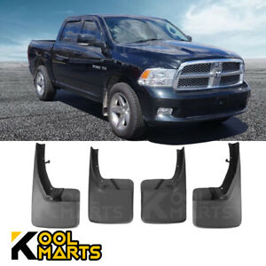 For 2009 2018 Dodge Ram 1500 2500 3500 Front Rear Mud Flaps Splash Guards