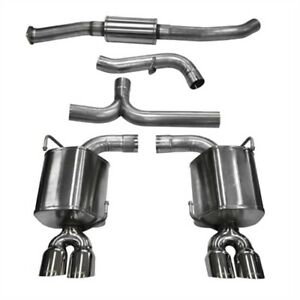 Corsa 14863 Sport Cat Back Exhaust System 2011 2014 Subaru Impreza Sti Wrx Sedan
