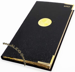 The American Express 2021 Black Pocket Size Planner Organizer Diary 3 25x6 75
