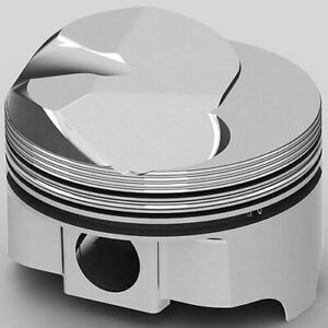 United Engine Machine Ic9918 060 Chevy 454ci Fhr Forged Pistons Solid Dome 500