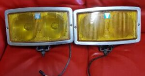 Front Fog Lights Hella 290 With Double Bulbs parables Lamps And Glass Perfect