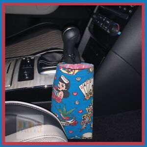 Cutely Crafted 2 piece Car Litter Bag Forever Lover