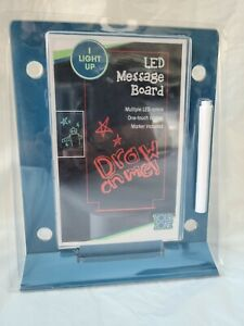 Your Zone My Led Glow Message Board Light With Pen
