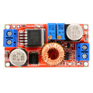 5a Dc Constant Current Voltage Regulator Step Down Converter 12v 24v