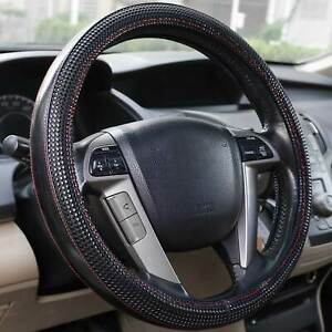 15 Universal Soft Leather Steering Wheel Cover Protector For Car Truck Suv