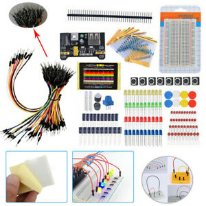 Beginners Electronic Learning Starter Kit Breadboard Components Projects