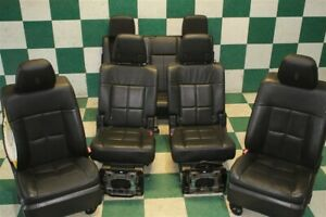note 07 14 Navigator Swb Black Leather Heated Cooled Power Seats 2nd 3rd Row