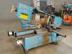 Doall C 916a Fully Automatic Horizontal Band Saw 9 X 16 Capacity