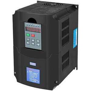 Single To 3 Phase 5 5kw 8hp 220v Variable Frequency Drive Inverter Cnc Vfd Vsd