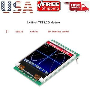 1 44 Inch Tft Lcd Screen Module 128x128 Spi Replace 5110 Oled 5v For Arduino