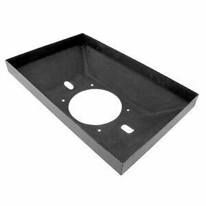 Harwood 3000 Dragster Scoop Tray Mounts To Holley 4500 Flange 21 3 4 In L X 13