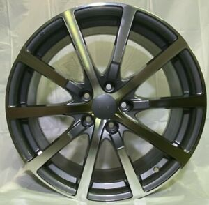 19 Gunmetal Wheels Fits Acura Tsx Tl Hfp Style Brand New set Of 4 W305