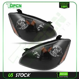 Fits Nissan Altima 2002 2004 Front Headlights Replacement Left Right Side Set