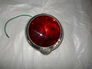 Vintage Unity Red Glass Light Spotlight For Car Truck Ratrod Works