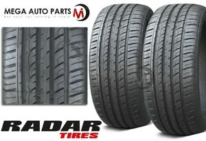 2 Radar Dimax R8 255 50zr20 109w Ultra High Performance Summer Car Suv Cuv Tire