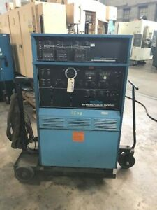 Miller 500 Amp Syncrowave 500 Ac dc Tig Stick Welder Power Source Mounted Cart