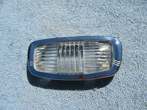 Vintage 1946 1954 Plymouth Car Interior Dome Light
