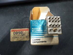 Potter And Brumfield Khu 17d11 24 Relay 14 pin 24vdc Nos