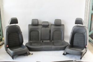 12 15 Volkswagen Passat Sel Leather And Suede Seats Set Front Rear Oem Used 44k