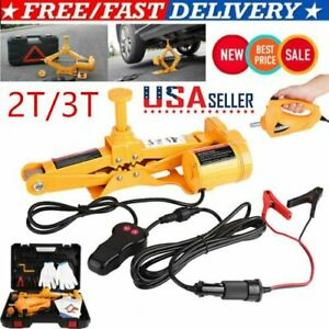 Usa Car Electric Jack Hydraulic Floor 12v Dc 2 3 Ton Lift Scissor Jack Repair