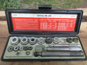 K D Bushing Remover Inserting Driver Set Drive M All