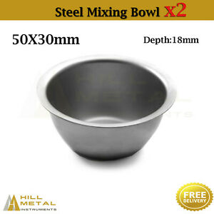 Dental Laboratory Instruments Cement Mixing Steel Bowl Surgical Implant Bone Cup