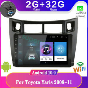 Android For Toyota Yaris 2008 11 Car Dvd Player Radio Stereo Wifi Gps Navigation