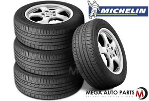 4 New Michelin Premier A s 195 65r15 91h All Season Tires 60000 Mile Warranty