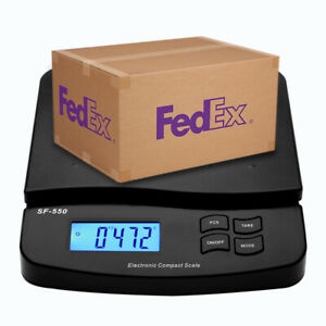 Digital Shipping Postal Scale Sf 550 66lb X 0 1 Oz Lcd High Precision Black Us
