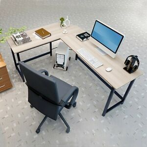 Corner Computer Desk L Shape Gaming Study Pc Table Home Furniture Workstation
