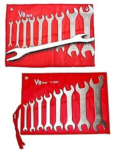 V8 Tools 8308 Super Thin Wrench Wrench Set Promo Pack New